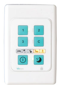 CRIS External Keypad with Real-time Status Indicators Faceplate