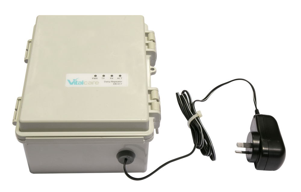 Site Extender box with power cable