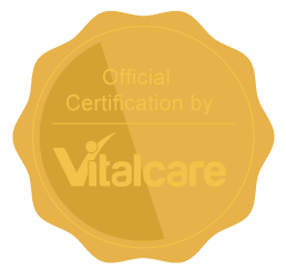 Vitalcare Certification Wax Seal
